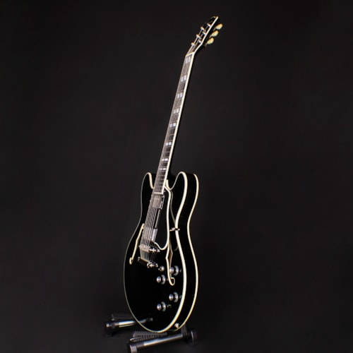 2019 Eastman T486-BK Black Semi Hollow Electric