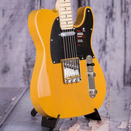 Fender 2019 Channel Exclusive American Performer Telecaster, Butterscotch Blonde