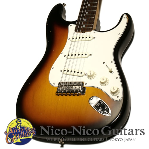 2019 Fender Custom Shop 1965 Stratocaster Journeyman Relic Closet Classic Sunburst