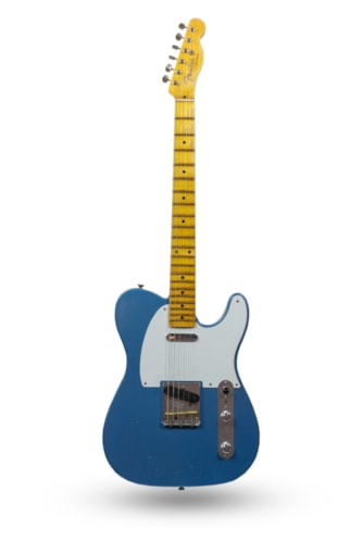 2019 Fender Custom Shop '55 Telecaster Journeyman Relic Lake Placid Blue
