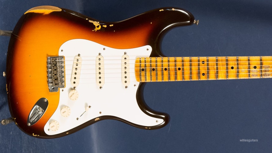 2019 Fender Custom Shop '58 Stratocaster Relic Sunburst