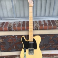 2019 Fender Custom Shop LEFTY Double Esquire (1950 Reissue)