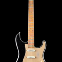 "2019 Fender Custom Shop Namm  Top 20 Guitar, 1956 Relic ""Roasted Stratocaster"" - Aged Black"