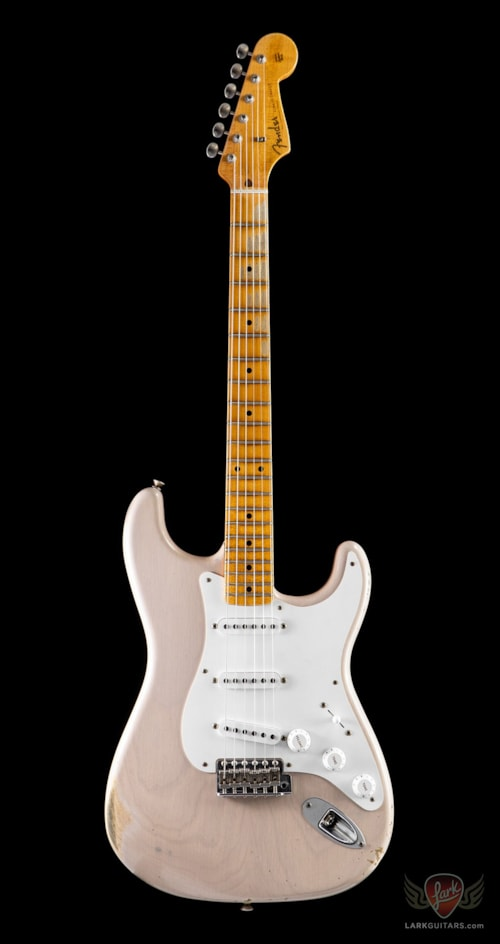 2019 fender custom shop namm top 20 guitar 1955 relic stratocaster dirty white blonde 595. Black Bedroom Furniture Sets. Home Design Ideas
