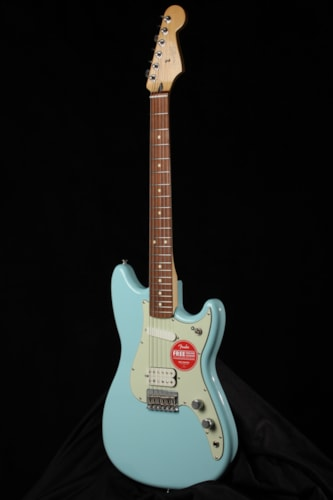 2019 Fender Duo Sonic Blue