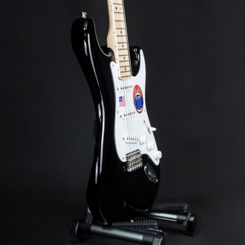 2019 Fender Stratocaster Eric Clapton Blackie Electric Guitar Black (4551)