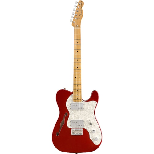 Fender Vintera '70s Telecaster Thinline 2019 Candy Apple Red