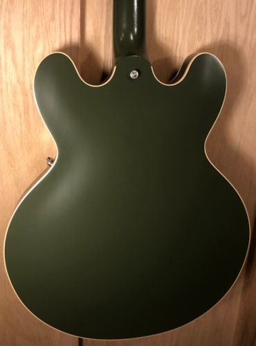2019 Gibson  Chris Cornell ES-335 Tribute-Olive Drab Green Olive Drab Green