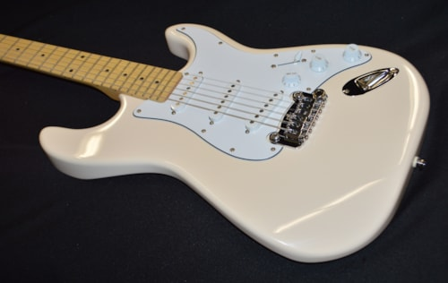 2019 G&L Tribute Legacy Olympic White