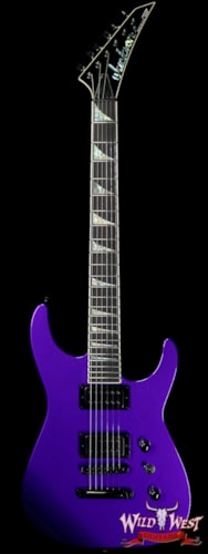 2019 Jackson Custom Shop Wild West Soloist SL2H Stoptail Bare Knuckle Juggernaut Pickups Ebony Fingerboard Pavo Purple Pavo Purple