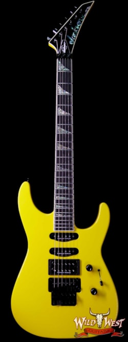 2019 Jackson Custom Shop Wild West Soloist SL1 HSS Seymour Duncan Pickups Ebony Fingerboard Taxi Cab Yellow