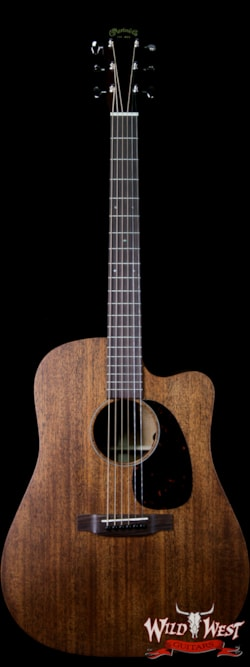 2019 Martin 15 Series DC-15 ME Electric-Acoustic Guitar