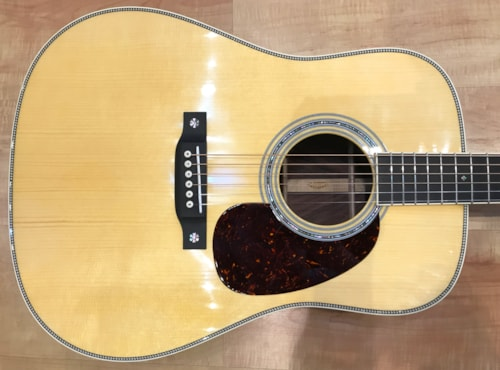 2019 Martin Custom Shop D Style 14 Fret With Wild-Grain Rosewood Set #6 Acoustic Guitar