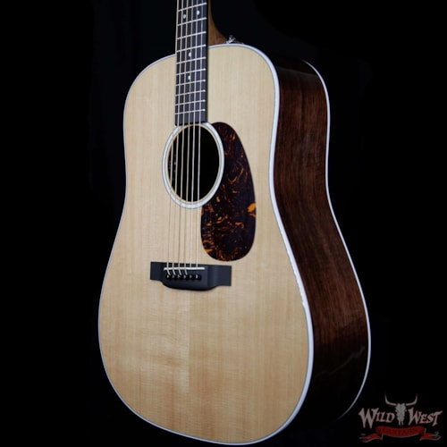 2019 Martin Road Series D-13E Electric-Acoustic Guitar w/ 3 Sets of Lifespan SP Strings Clear