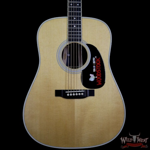 2019 Martin USA Special Edition D-35 Woodstock 50th Anniversary Guitar Rosewood Back & Side Aging Toner