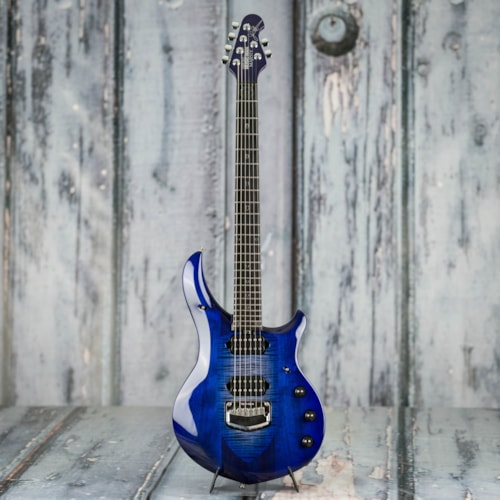 Used 2019 Ernie Ball Music Man John Petrucci Monarchy Majesty, Imperial Blue