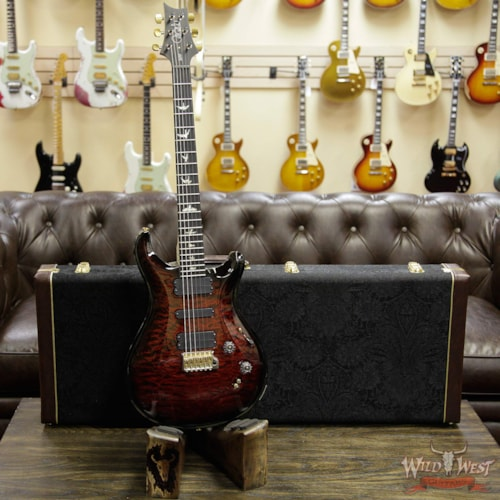 2019 PRS - Paul Reed Smith PRS Artist Package 509 Quilt Maple Top with Flame Maple Neck Ebony Fingerboard Red Tiger Smokewrap Burst Red Tiger Smokewrap Burst