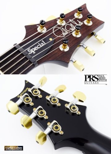 """2019 Paul Reed Smith Special 22 Semi-Hollow Ltd """"10 Top"""" Black Gold"""