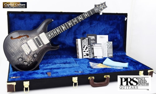 "2019 Paul Reed Smith Special 22 Semi-Hollow Ltd. ""10 Top"" Charcoal Burst"
