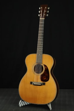 2019 Pre-war Guitars Co. Model 000-28 Granadillo NT Distress Level 1.25