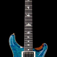 2019 PRS - Paul Reed Smith Paul Reed Smith PRS Wood Library 10 Top Custom 24 Quilt Maple Top Ebony Fingerboard Aquamarine