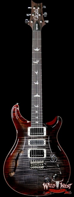 2019 PRS - Paul Reed Smith Paul Reed Smith PRS Semi-Hollow Limited Edition Special 22 Rosewood Fingerboard Charcoal Cherry Burst