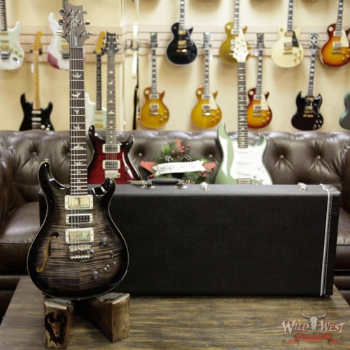 2019 PRS - Paul Reed Smith Paul Reed Smith PRS Semi-Hollow Limited Edition Special 22 Rosewood Fingerboard Charcoal Burst Charcoal Burst