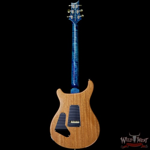 2019 PRS - Paul Reed Smith PRS Wild West Guitars 20th Anniversary Limited Run # 32 of 40 Wood Library Artist Package Custom 24 Flame Maple Neck River Blue River Blue