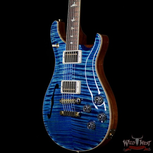 2019 PRS - Paul Reed Smith PRS Wild West Guitars 20th Anniversary Limited Run # 27 of 40 Wood Library Artist Package Semi-Hollow McCarty 594 River Blue River Blue