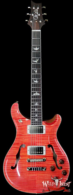 2019 PRS - Paul Reed Smith PRS Wild West Guitars 20th Anniversary Limited Run # 13 of 40 Wood Library Artist Package McCarty 594 Hollowbody II Salmon(Private Stock Color)