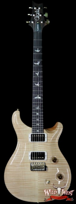 2019 PRS - Paul Reed Smith PRS Wood Library 10 Top Custom 24 Flame Top Brazilian Rosewood Board Natural 6.90 LBS