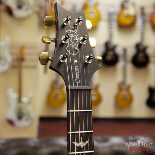 2019 PRS - Paul Reed Smith PRS Wood Library 10 Top Custom 24 Flame Maple Top Brazilian Rosewood Board Charcoal Cherry Burst Charcoal Cherry Burst