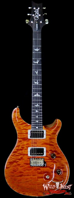 2019 PRS - Paul Reed Smith PRS Wood Library 10 Top Custom 24 Quilt Maple Top Brazilian Rosewood Fingerboard Orange