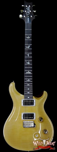2019 PRS - Paul Reed Smith PRS Wood Library 10 Top Custom 24 Flame Maple Top Brazilian Rosewood Fingerboard Honey Honey