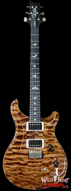 2019 PRS - Paul Reed Smith PRS Wood Library 10 Top Custom 24 Quilt Maple Top Ebony Fingerboard Copperhead