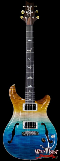 2019 PRS - Paul Reed Smith PRS WWG 20th Anniversary Wood Library Artist Package Hollowbody I Piezo HB1 Beach Cross Fade(Private Stock Color) Ltd #2