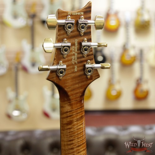 2019 PRS - Paul Reed Smith PRS Wild West Guitars 20th Anniversary Limited Run # 33 of 40 Wood Library Artist Package Custom 24 Flame Maple Neck Copperhead Copperhead