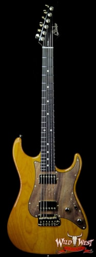 2019 Suhr Custom Standard HH Swamp Ash Body Spalted Maple Pickguard Rosewood Fingerboard Trans Amber Trans Amber