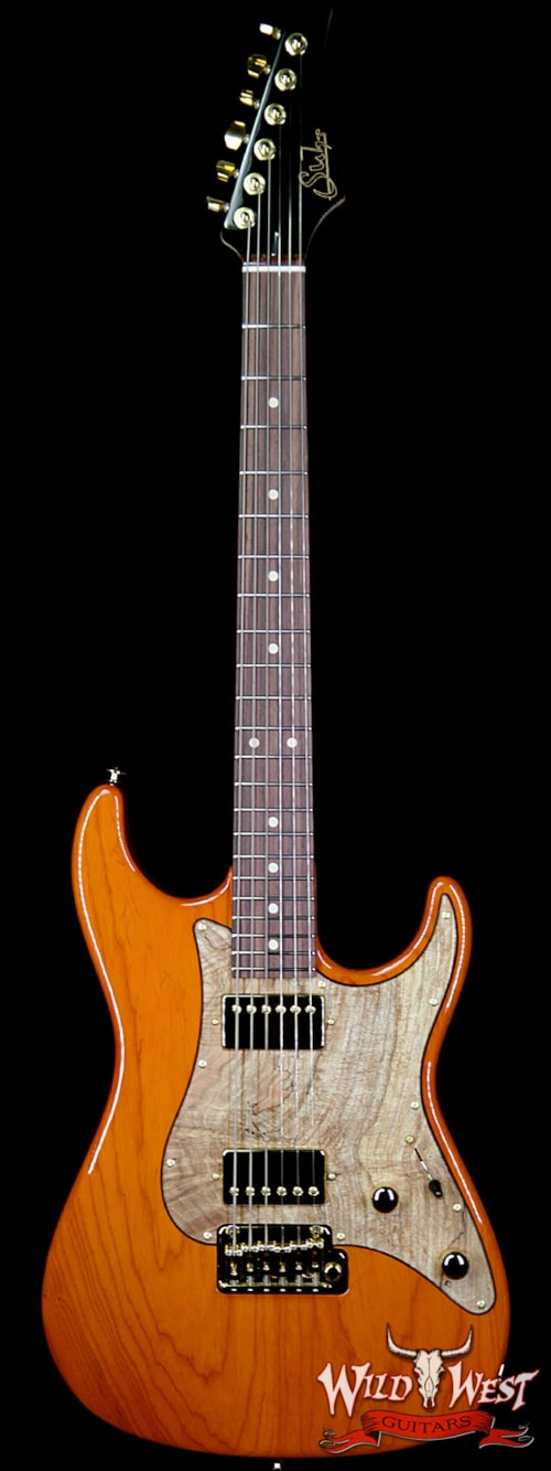 2019 Suhr Standard Hh Swamp Ash Body Spalted Maple