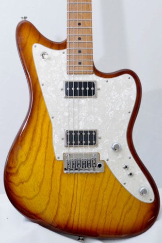 2019 Tom Anderson RAVEN Dark Honey Burst