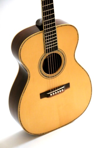 2019 Whitehead 000-42  Brazilian Rosewood sides and back