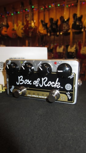 2019 ZVex Box of Rock Vexter Black & Gold