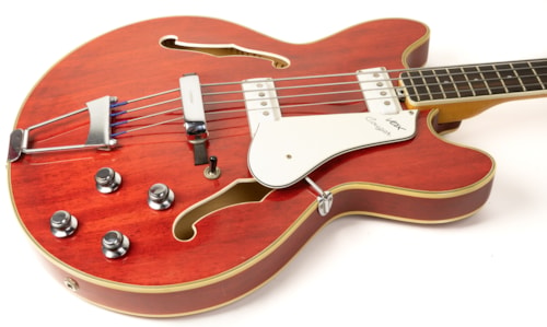 1960s Vox Cougar Bass in Cherry