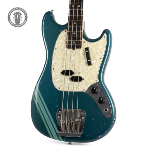1970 Fender Competition Mustang Bass Competition Blue w/Matching Headstock