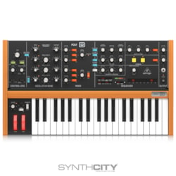 2020 Behringer Poly D 4-Voice Polyphonic Synthesizer