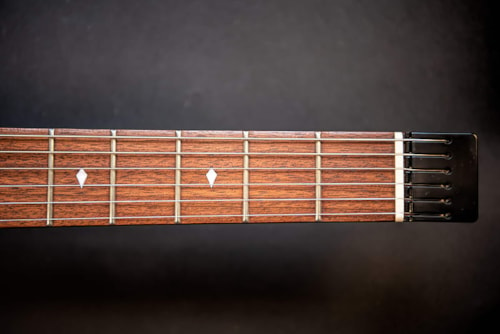 2020 Bootlegger Guitar  Spade  Natural Honey Wood