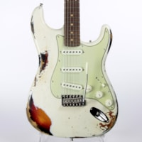 2020 Fender 64 Custom Shop GT11 Heavy Relic Stratocaster Roasted