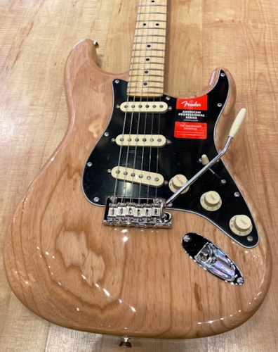 2020 Fender American Professional Stratocaster Natural Electric Guitar