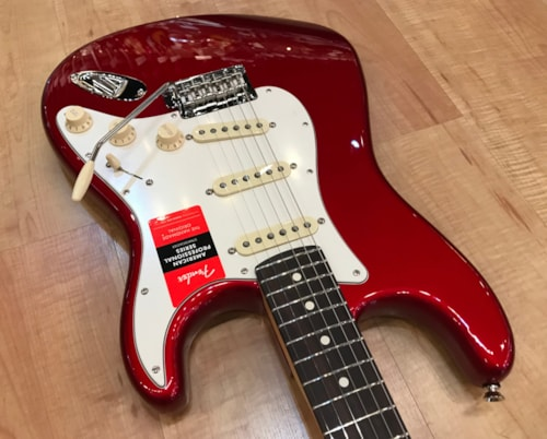 2020 Fender American Professional Stratocaster Candy Apple Red