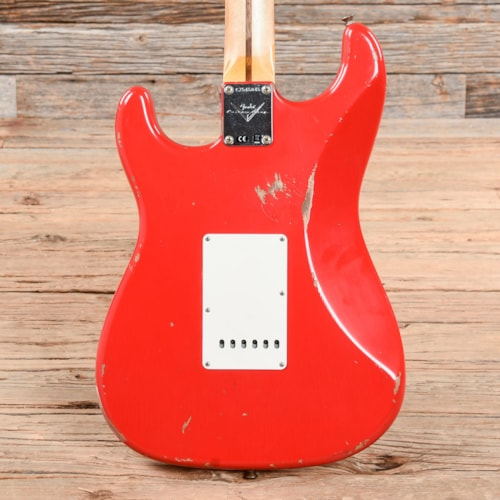 Fender Custom Shop MVP 1960 Stratocaster Relic Hot Rod Red 2020